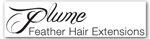 Plume Feather Extensions at Snip Salon